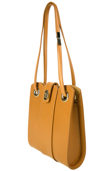 CL0801 Golden Sand Curvi Linear Bag