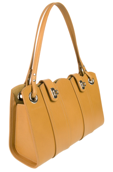 Curvi-Linear MD2 Golden Sand Handbag